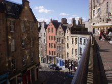 Edinburgh, Victoria Terrace, © Jennifer Romero